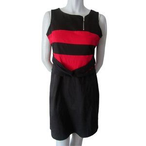 Schwiing Fanny Black and Red Dress Large